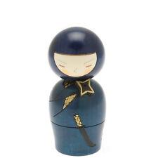 "1x Japanese 5-5/8""H Kokeshi Mysterious Ninja  Kokeshi Doll #590-217"