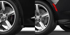 2016-2018 Camaro Genuine GM Front & Rear Splash Guards Black