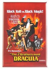 7 Brothers Meet Dracula Fridge Magnet movie poster martial arts