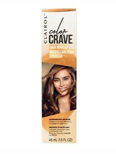 Clairol Color Crave Hair Makeup Shimmering Bronze (1.5 FL OZ)