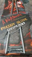 Nightmare on Elm Street, Freddy's Glove Chopsticks,  Loot Crate Exclusive, New