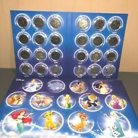 NEW DISNEY Advent Calendar - Collectible 24 Coins Set Limited Edition RARE