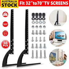 "Universal Table Top TV Stand Mount For Samsung Sony Sharp TCL 32-70"" LCD LED TV"