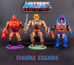 He-Man Action Figure Stands for Vintage Masters of the Universe - MOTU 1982-1988