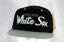 Chicago White Sox Black/Gray  Baseball Cap Snapback