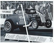 """1960s NHRA Drag Racing-1933 B/A Willys-""""Dirty Thirty""""-Charlie Hill-Bob Parmer"""