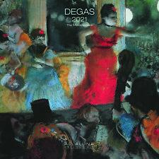 Calendario Allaluna 2021 - Degas ( formato 30 x 30 )