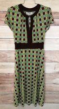 Eliza J Women's Multi Colored Dress Size 12 Geometric Pattern Sleeveless LBB76