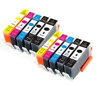 10 PK Combo XL Ink Cartridges use for 564XL Photosmart 7520 7525 B8550 C6340