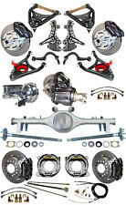 """NEW 2"""" DROP SUSPENSION & WILWOOD BRAKE SET,CURRIE REAR END,ARMS,POSI GEAR,687271"""