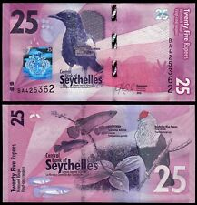 SEYCHELLES 25 RUPEES (P48) 2016 UNC