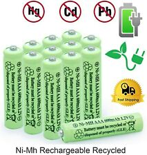 2-16Pcs Rechargeable AAA Batteries Ni-MH 600mAh Battery & Generic AA/AAA Charger