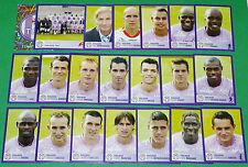 PANINI FOOTBALL FOOT 2006 TOULOUSE Téfécé STADIUM COMPLET FRANCE 2005-2006