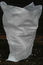 500 Strong  Woven Rubble Sacks Bags Heavy Duty Strong Sacks 2 ft x 3ft, White