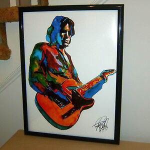 Jeff Buckley Singer Guitar Soul Blues Rock Music Poster Print Wall Art 18x24