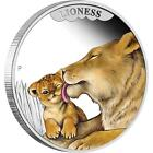 2014 50c Mother's Love Lioness 1/2oz Silver Proof Coin CERTIFICATE NUMBER: 728