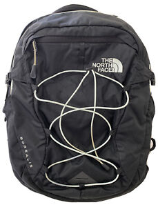 THE NORTH FACE BOREALIS BACKPACK BLACK GOOD CONDITION