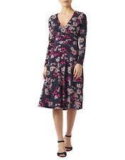 SUPER SALE!!! BNWT MONSOON SAFFRON PRINT DRESS BLACK Size 8