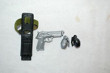 Gi Joe 1911 gun, hand grenade and knife belt