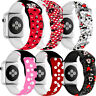 For Apple Watch Series 6 5 4 3 2 1 SE Band Strap Replacement Mickey Minnie Mouse