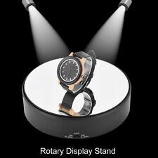 Rotary Jewlery Display Stand Mirror Glass 360 Swivel Watch Turntable for Jewelry