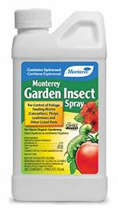 Monterey LG6150 Garden Insect Spray, Insecticide & Pesticide w/ Spinosad Conce