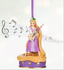 New Disney Store Sketchbook Rapunzel Singing Christmas Ornament