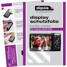 6x dipos Canon Ixus 255 HS Film de protection d'écran protecteur cristal clair