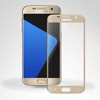 3D Curved Displayglas für Samsung Galaxy S7 Glasfolie FULLSCREEN Glas 9H - Gold