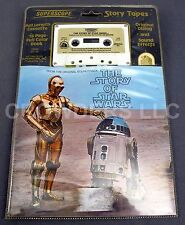 Vintage 1977 Story of Star Wars Cassette & 16 Page Full Color Book Superscope