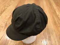 Goorin Bros Fiddler Newsboy Cadet Hat Cap Mens Adjustable Strap One Size Green