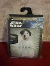 Rubies Princess Leia Star Wars Pet Costume Dog Movie Cute Funny size small