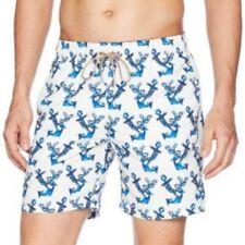 edd535fd23 New BUGATCHI Men's Swim Trunks Anchor Design sz XXL