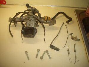 Honda 614 Engine 20 HP Intake, Carburetor,  Fuel Pump & Misc Parts KeiHin
