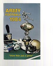 ARMY FOOTBALL MEDIA GUIDE FROM 1984       VINTAGE+RARE       AMAZING CONDITION