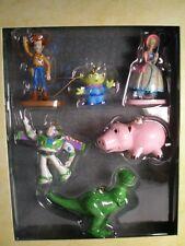 Disney Store Toy Story Storybook Christmas Ornament Set NIB HTF