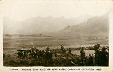 More details for machine guns in action near katsai. mohmand operation 1935 (k c mehra) india nwf