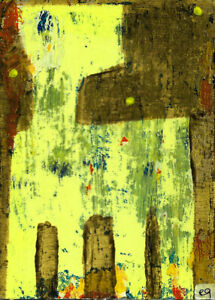 his own life a series of speculative alternate histories e9Art ACEO Outsider Art