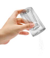 FRED Saltside Out - Saliera  doppio fondo a forma di shaker in vetro/salt shaker