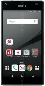 Docomo Xperia Z5 Compact SO-02H Black Sony Unlocked Android Smartphone F/S