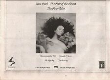KATE BUSH Hair of the Hound video 1986  UK Press ADVERT 10x7""