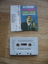 Tony Bennett & Count Basie - In Person! Live 1959 (CBS Cassette) VGC