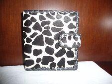 Designer ladies animal print black and white  Bi-Fold wallet
