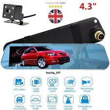Car DVR Cam Rearview Mirror Camera Dash Cam Recorder G-Sensor Night Vision NEW