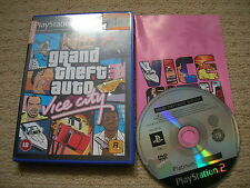 GRAND THEFT AUTO : VICE CITY - Rare Sony PS2 Game