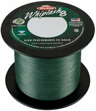 (0,11 €/m) Berkley Whiplash 8 Green-per 25m 0,30mm - 71,6kg Intrecciato Corda