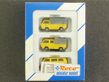Roco 1553 Set 3x VW T3 Deutsche Post Transporter Bus New! Boxed 1609-18-91