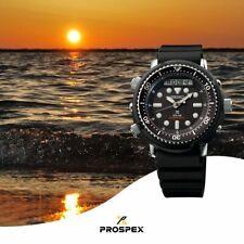 Latest NEW Seiko Men's Solar Arnie Black Dial Silicone Band Watch SNJ025P1