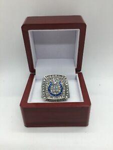 2006 Indianapolis Colts Peyton Manning Super Bowl Championship Ring with Box