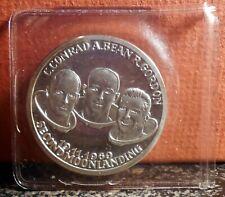 1969 APOLLO XII Conrad Gordon Bean - Astronaut Cosmos Ship SILVER medal